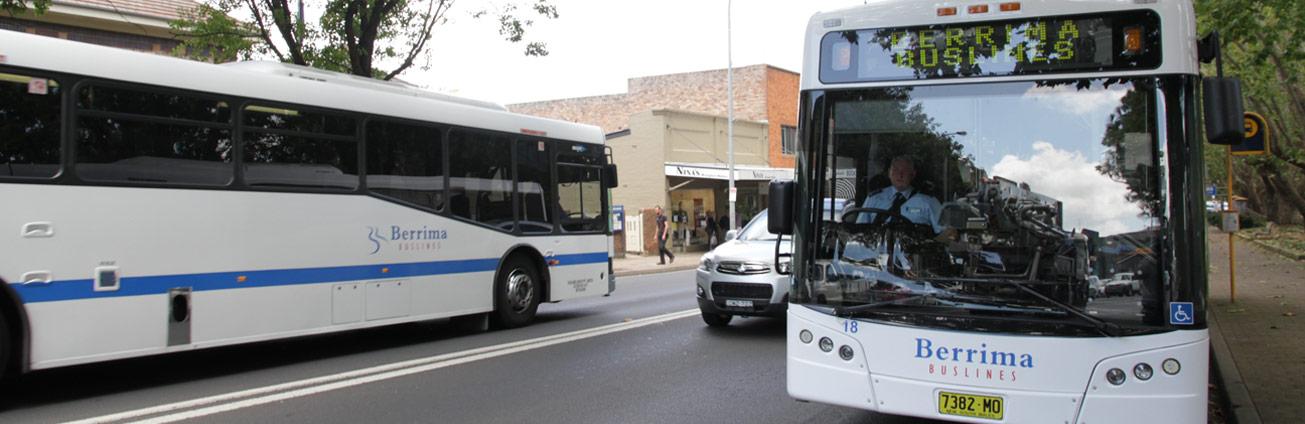 Berrima Buslines bus
